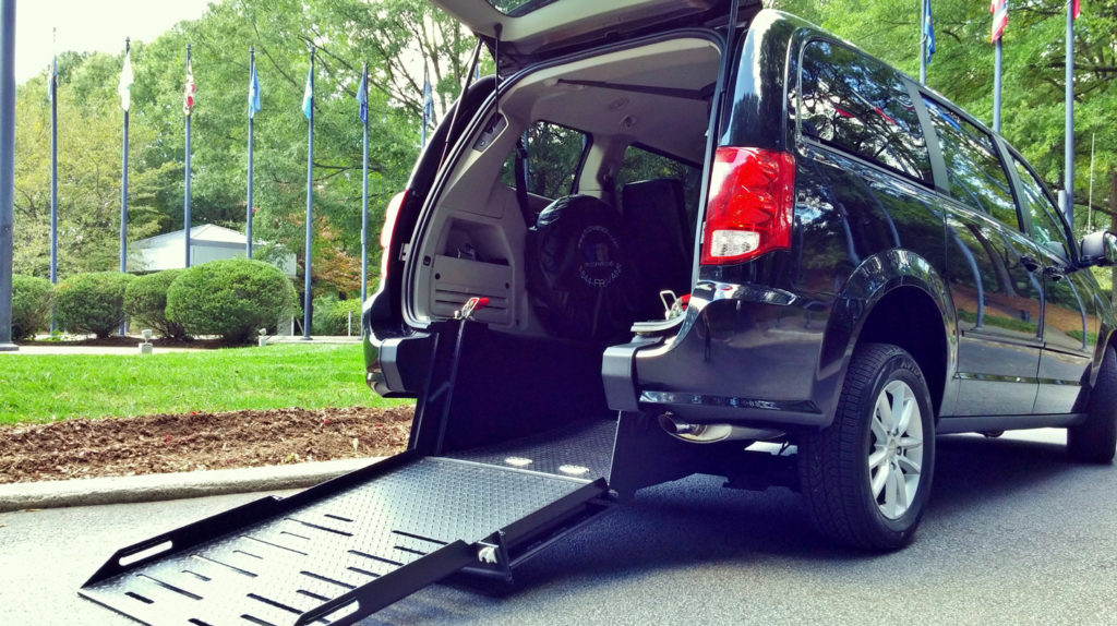 wheelchair accessible ramp van