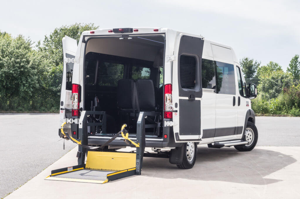 2017 Ram Promaster Cargo Van Extended Cargo Van >> RAM ProMaster Passenger Van Conversion - JC Paratransit