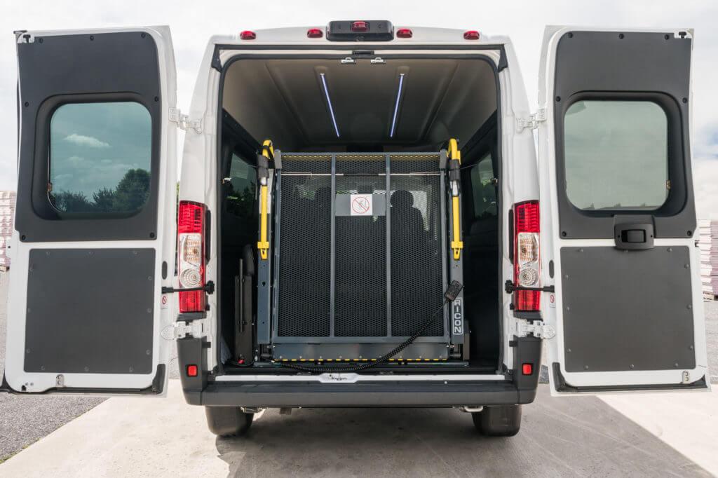 Ram Promaster Passenger Van Conversion Jc Paratransit