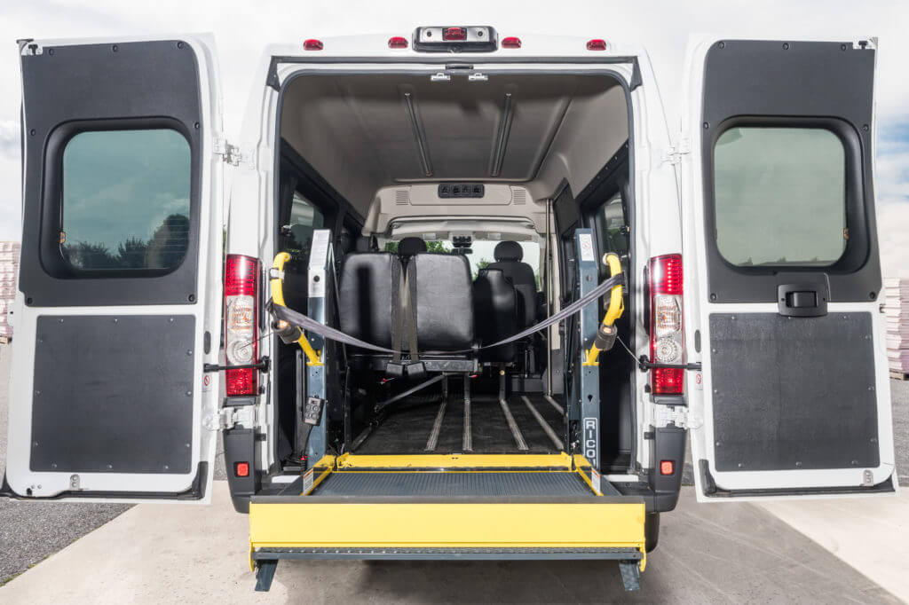 ProMaster Multi-Passenger Mobility Conversion Upfit Rear Entry Lift