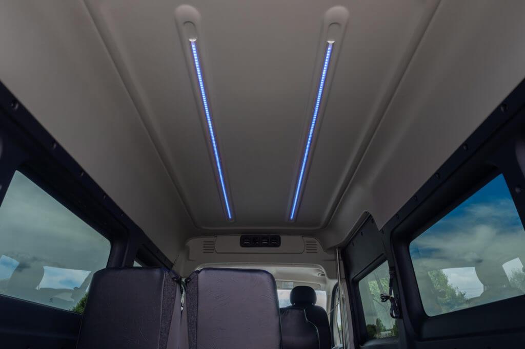 ProMaster Multi-Passenger Conversion Upfit Interior LED Lighting