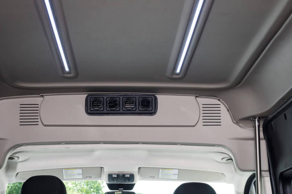 ProMaster Multi-Passenger Conversion Interior