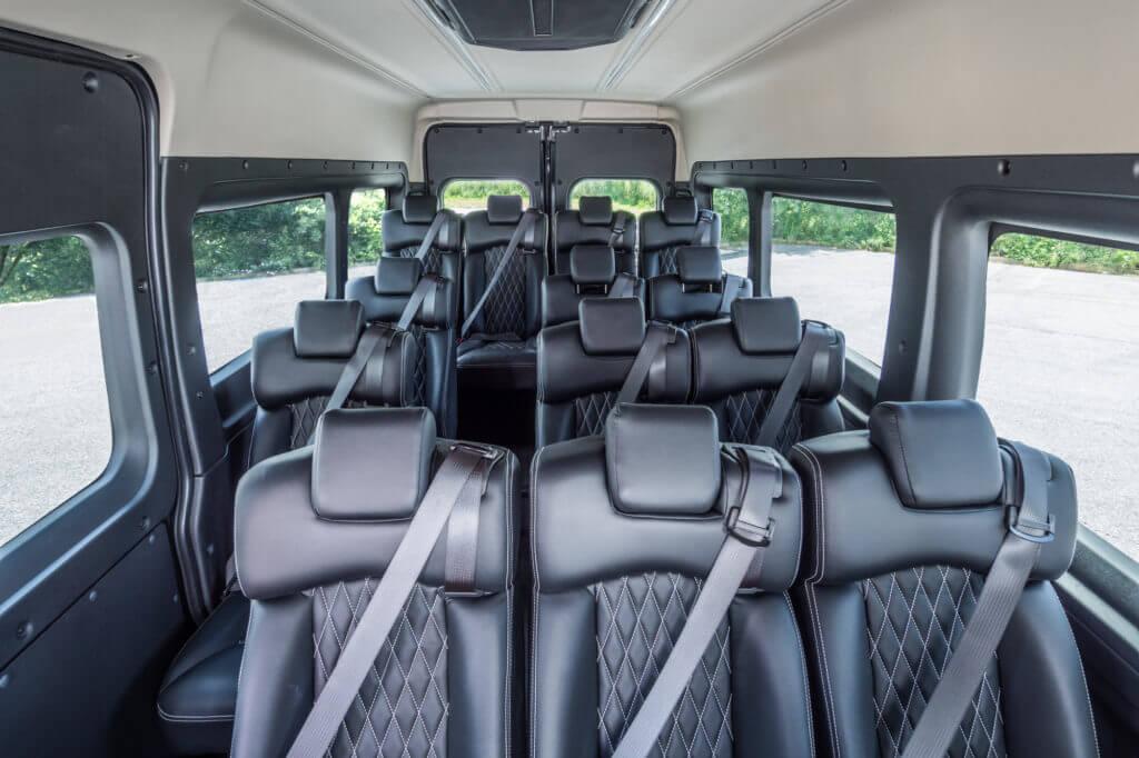 ProMaster Executive Shuttle Interior