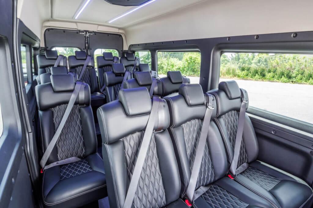 ProMaster Executive Shuttle Interior Seating