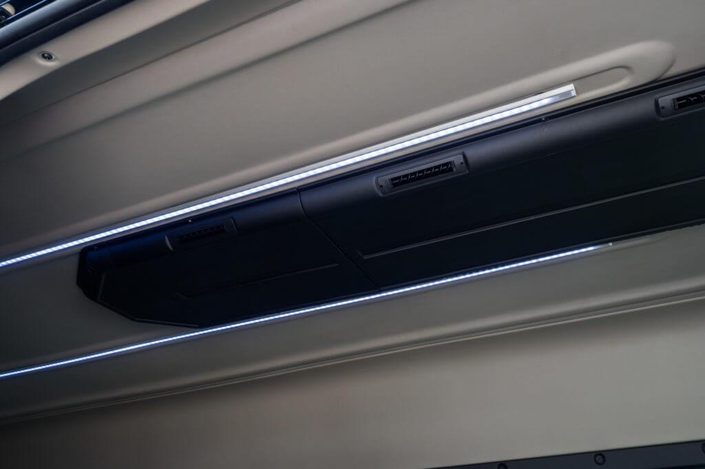 ProMaster Executive Shuttle Interior LED Lighting