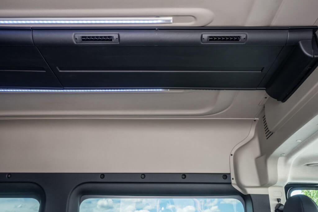 ProMaster Executive Shuttle Interior HVAC Ducting